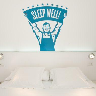 Dormitorio del Chic&Basic.