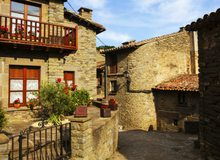 Pueblo medieval de la comarca de l'Alt Urgell