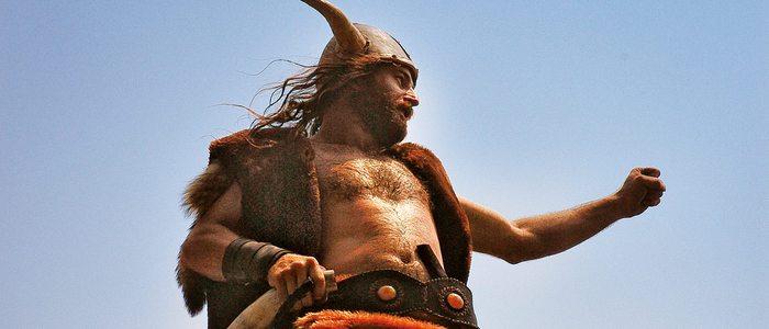 Personaje de la romería vikinga catoirense