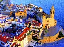 Vista aérea de Sitges