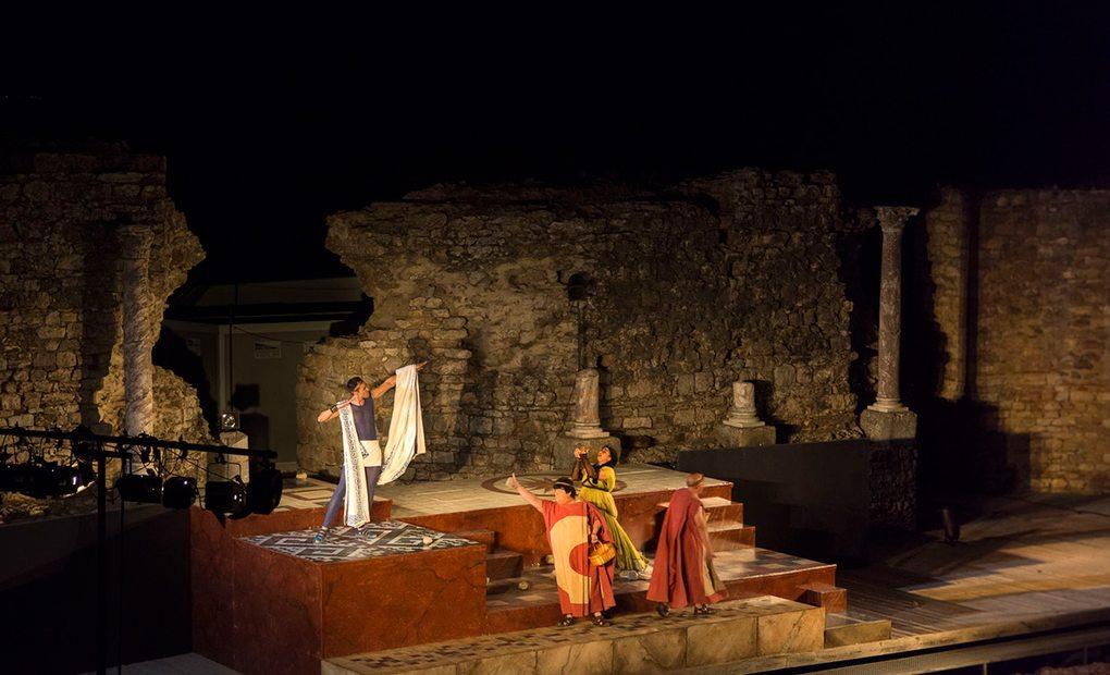 Teatro Romano de Regina, Badajoz. Foto: Manuel Ruiz Toribio