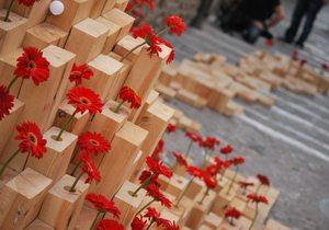 Arte en la calle durante Temps de Flors / Flickr Xenia R. Merino