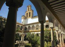 Claustro del Convento de San Francisco, en Lucena