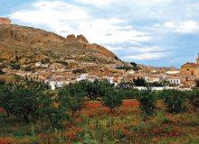 Vista de la localidad de Jumilla