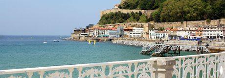 El paseo marítimo de Donostia-San Sebastián es de los más fotografíados