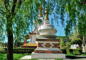 Templo budista Dag Shang Kagyu / Flickr Imanol Bueno Bernaola