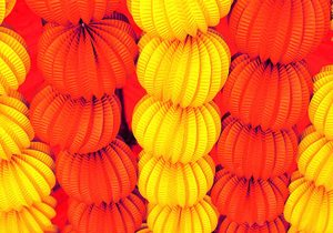 Decoración festiva en Aracena