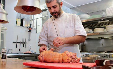 Receta de capón relleno de cuscussó de Menorca | Guía Repsol