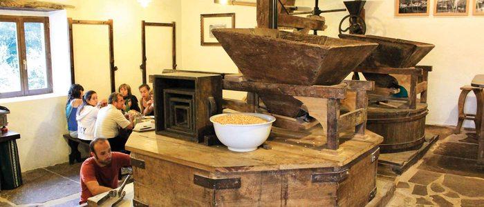 Molino restaurado en Amaiur