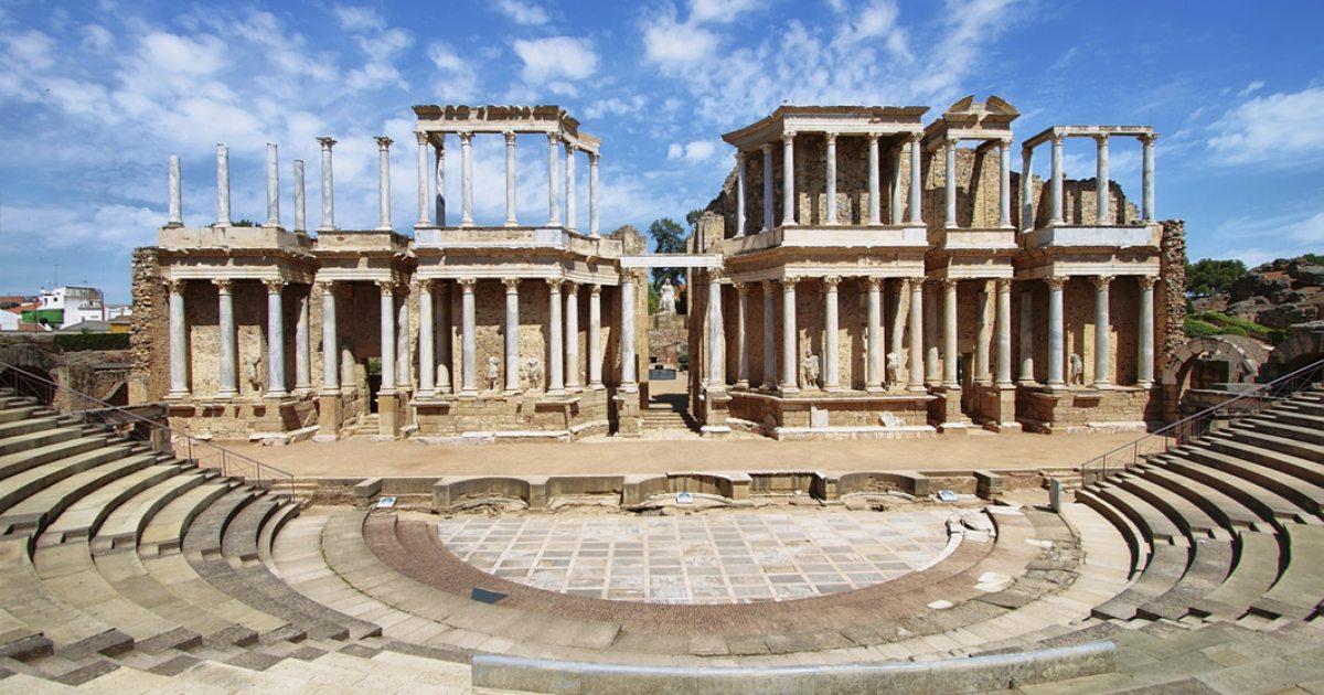 Boda Teatro Romano Merida : Ruta de día desde badajoz en guía repsol