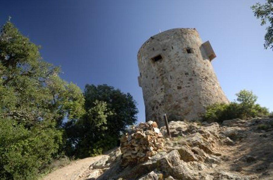 Torre de Can Magí o torre de los Moros