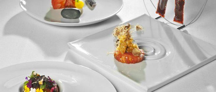 Estudio del tomate, Ramón Freixa