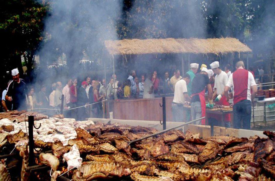 Fiestas patronales y del Churrasco en O Covelo