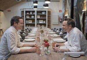 Dos Cielos Madrid Hermanos Torres. Reservado. Foto: Sofía Moro