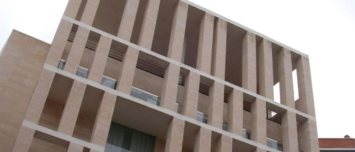 Ampliación del ayuntamiento, obra de Rafael Moneo. / Autor: CC Flickr Stefano (scaccia).