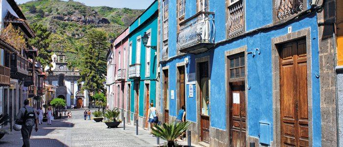 Calle Real de la Plaza, Teror