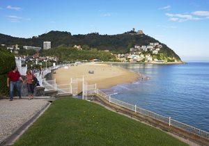 Vista playa San Sebastián
