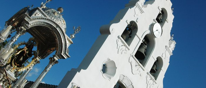 Nuestra Señora de la Cinta, patrona de Huelva.