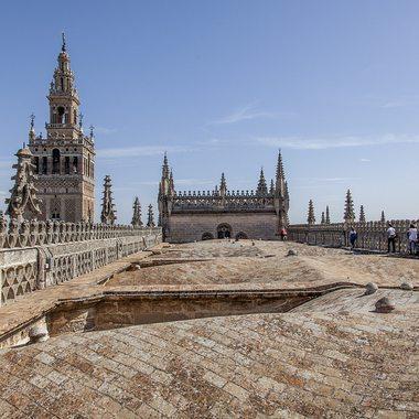 Cubiertas de la Catedral de Sevilla / Flickr: Angel Gonzalez Hereza