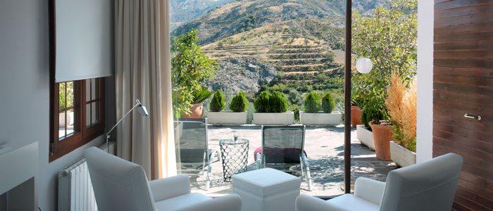 Habitación con terraza, La Almunia