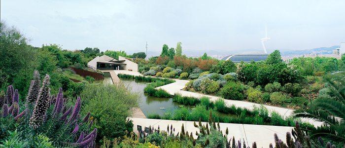 Jardín Botánico de Barcelona.
