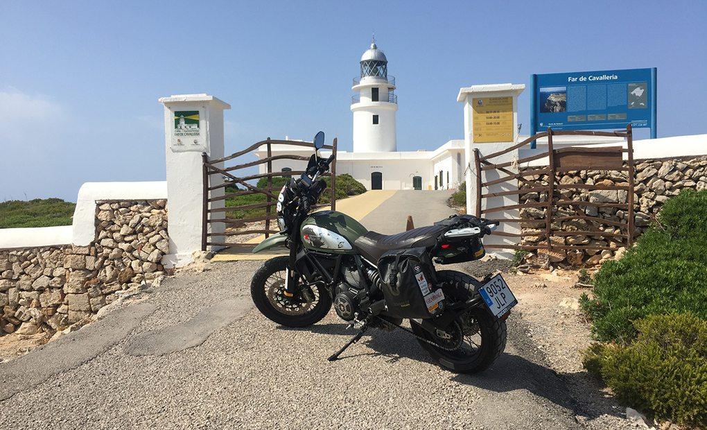 Menorca: Faro Cavalleria. (Baleares) Foto: Alicia Sornosa