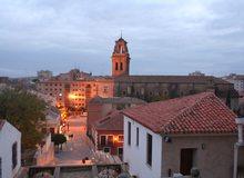 Plaza Santa María. / Imagen cedida por: Turismo de Almansa