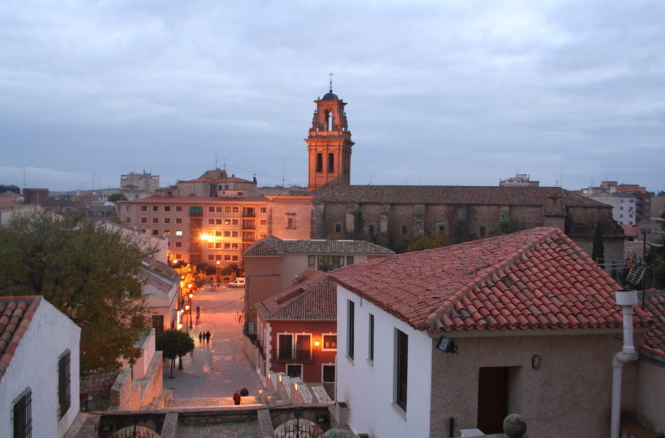 Informacion turistica de almansa albacete guia repsol - Plano de almansa ...