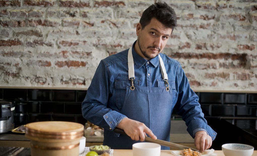 Mario Payán, Restaurante Kappo, Madrid. Foto: Sofía Moro