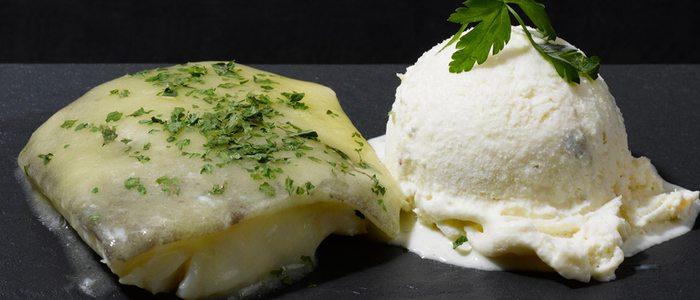 Helado de bacalao, original y perfecto para acompañar un rico plato de este pescado tan bilbaíno
