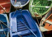 Bermeo. Barcas pesqueras