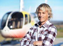 Entrevista Jesús Calleja: con helicóptero.