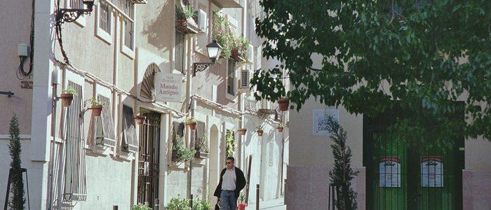 Calle Toledo, en el Casco Antiguo de Alacant