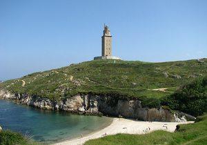 Torre de Hércules (Imagen cedida por Compostela Virtual)