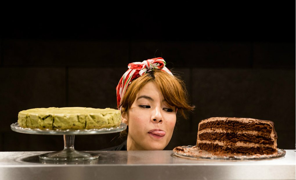 Tamara Ishihara, la cocinera de Okashi Sanda./ Fotos: Okashi Sanda