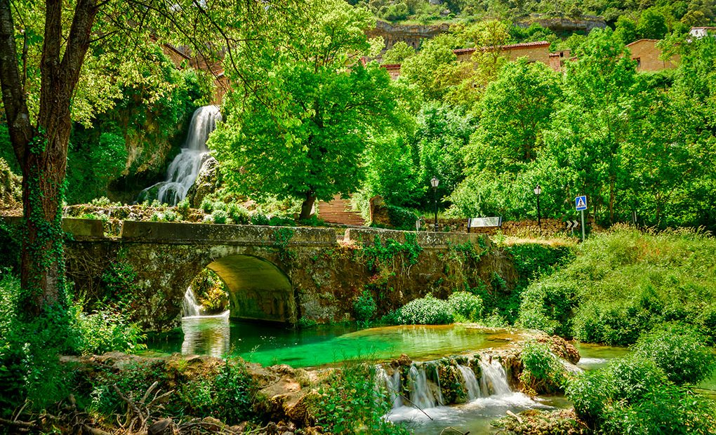 Orbaneja del Castillo, Burgos. Foto: Shutterstock.