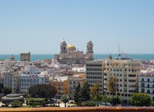 Cádiz desde un crucero