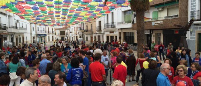 Fiesta popular en Malpartida de Cáceres