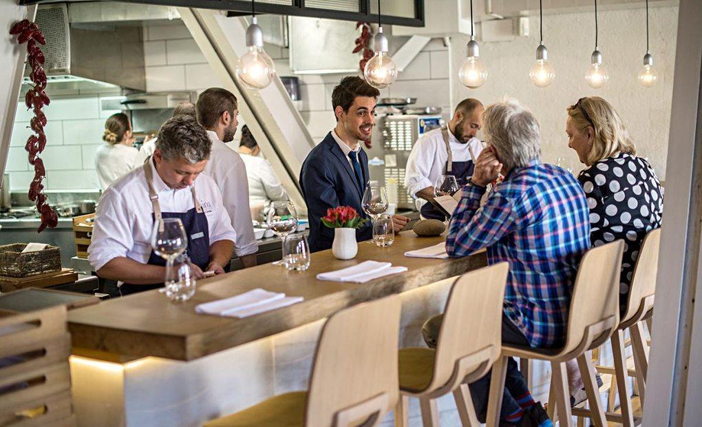 Apertura. Restaurante Mina. Foto: Alfredo Cáliz