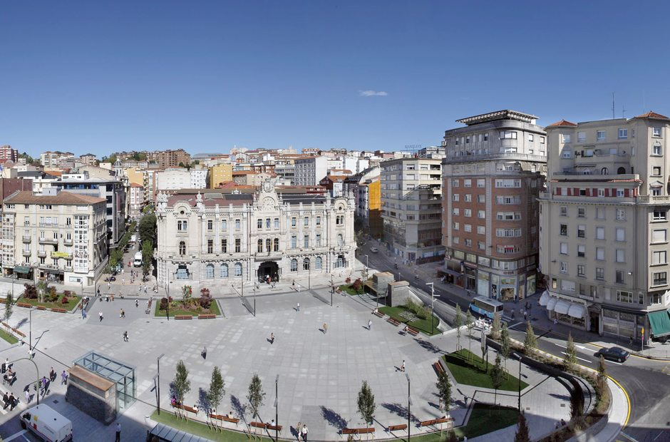 Panorámica de Santander.