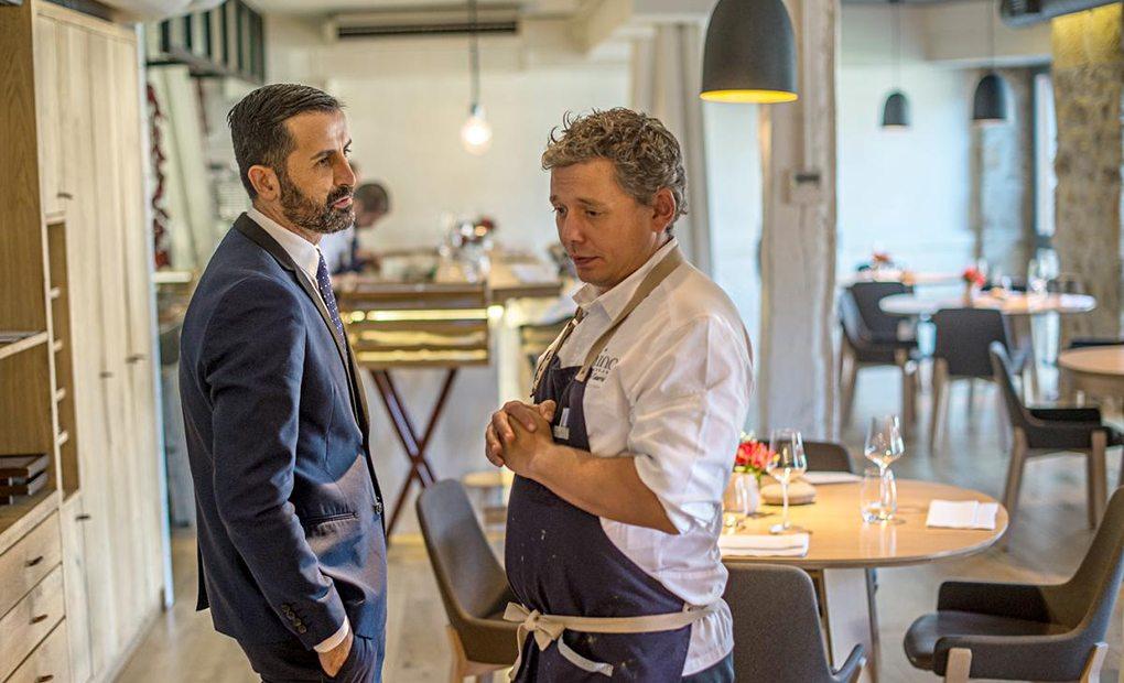 Restaurante Mina. Salón. Foto: Alfredo Cáliz