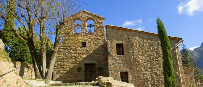 Monasterio de Sant Marçal, Montseny