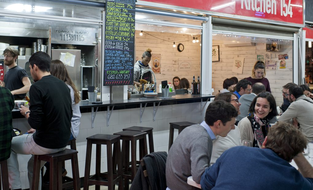 Kitchen 154, Madrid. Foto: Sofía Moro
