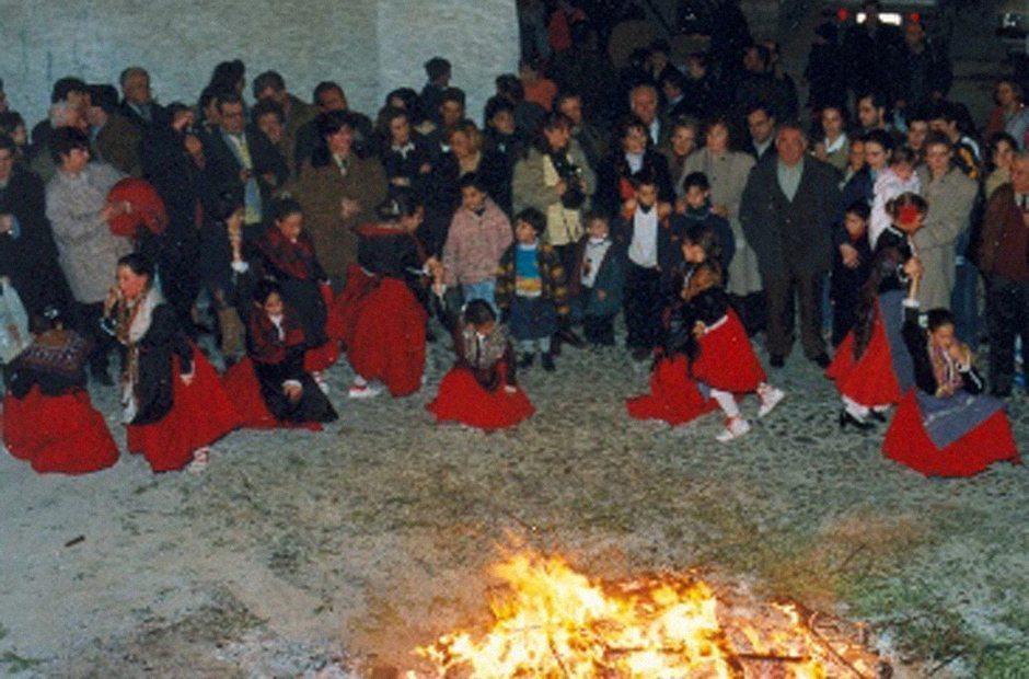 Noche de San Antón en Jaén