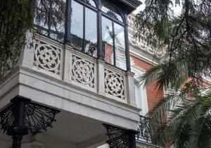 Hospedería Llerena, balcones