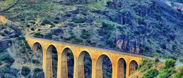 Puente Albentosa. / Autor: CC Flickr Vicente de Miguel.
