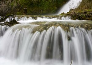 Cascada de Orbaneja del Castillo / Creative Commons. Flickr Xavier