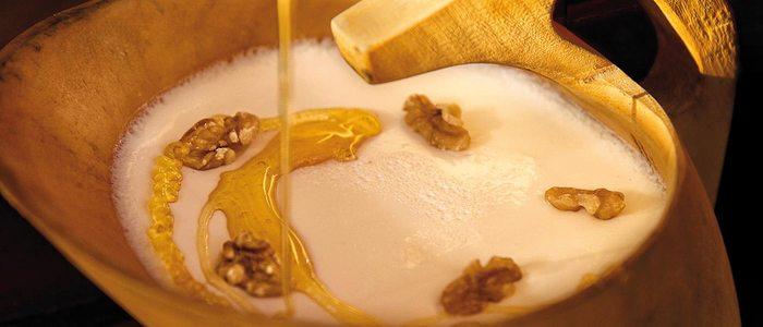 Cuajada de Ultzama con miel