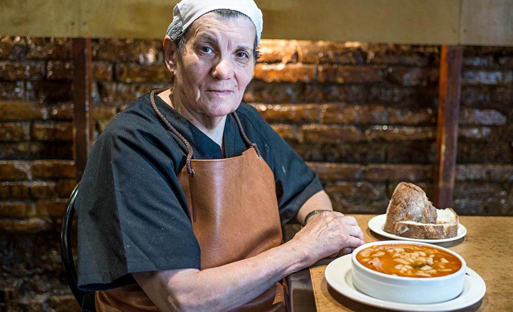 Apertura. Restaurante Asturianos. Julia. Foto: Alfredo Cáliz