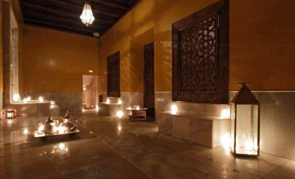 Ba os rabes aire de sevilla vuelta al mundo por sevilla en gu a repsol - Sevilla banos arabes ...